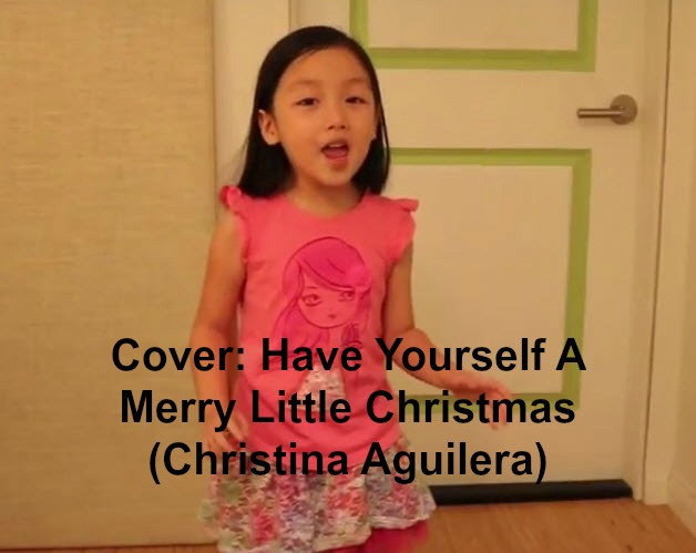 Have Yourself A Merry Little Christmas Christina Aguilera.Cover Have Yourself A Merry Little Christmas Christina
